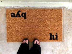 Calloway mills doormat for home