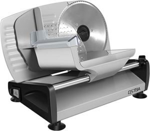 Electric Deli Food Slicer with Child Lock Protection