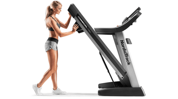 Treadmill For Home - Folded