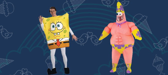 Spongebob Patrick Costume