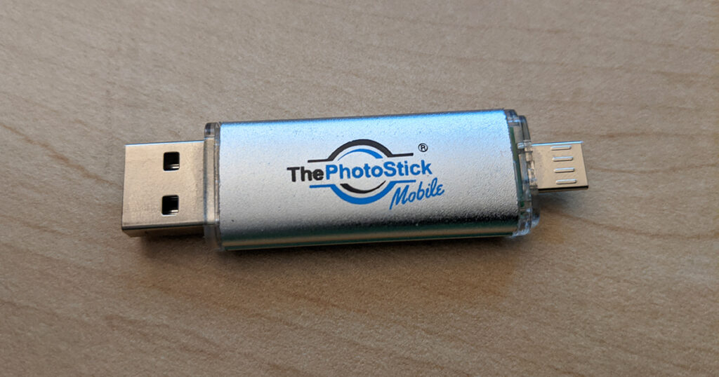 Where you can use photostick device?